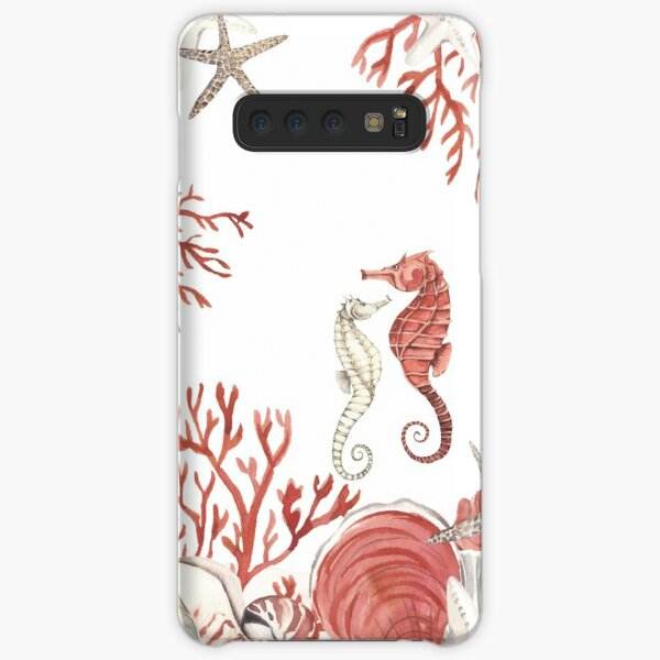 Coral sea Samsung Galaxy Snap Case