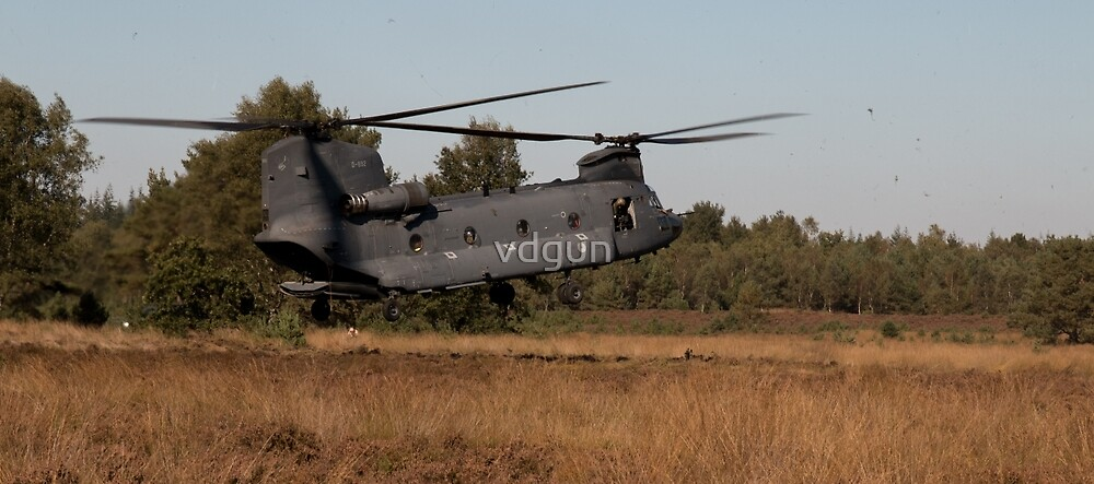 Dutch Army Chinook by vdgun