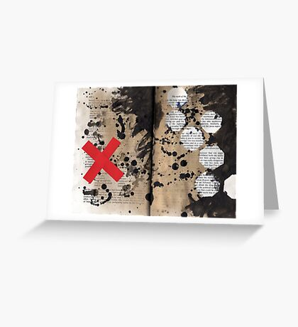 Altered Book 19 Greeting Card