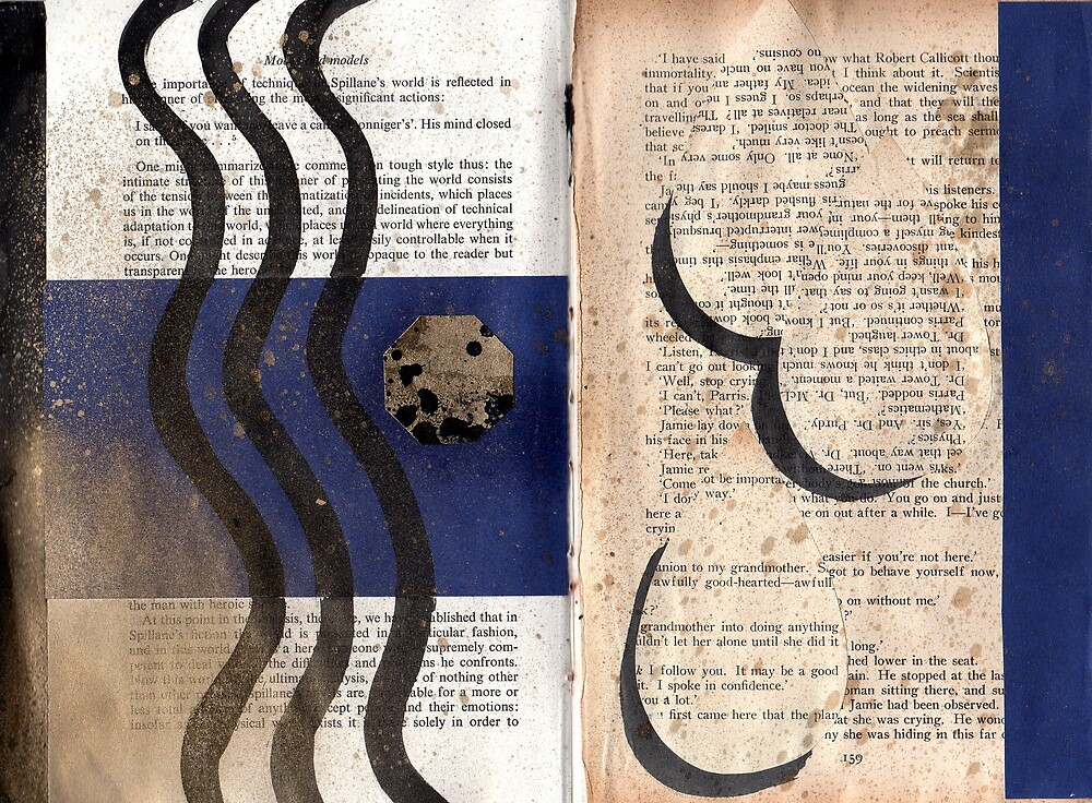 Altered Book 16 by zoe trap