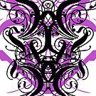 Black n' Purple Swirly Thingey by quigonjim