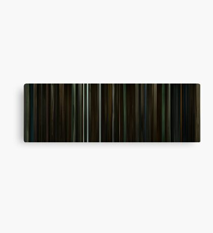 Moviebarcode: Harry Potter and the Half-Blood Prince (2009) Canvas Print