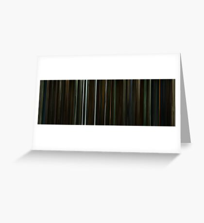 Moviebarcode: Harry Potter and the Half-Blood Prince (2009) Greeting Card