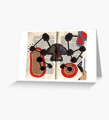Altered Book 7 Greeting Card