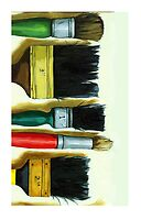Artist's Hands - Iphone case oil painting by LindaAppleArt
