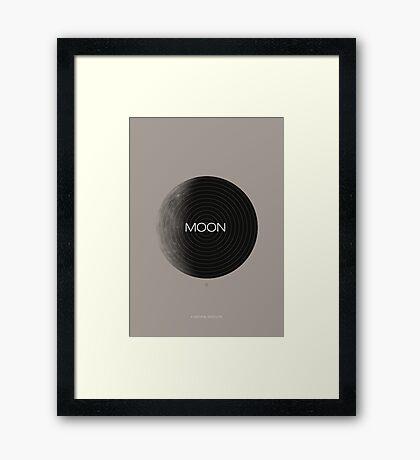 Moon, a Natural Satellite Framed Print