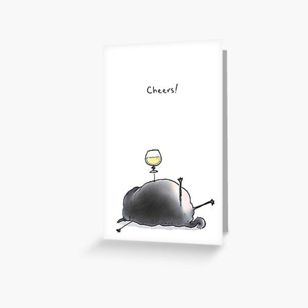 Cheers! Greeting Card