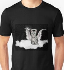 Tabby Angel Cat Unisex T-Shirt