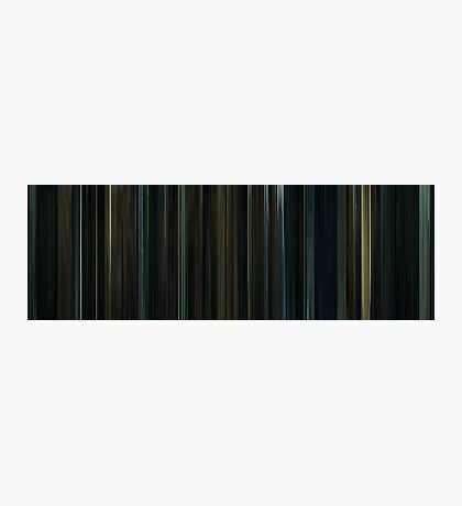 Moviebarcode: Harry Potter and the Deathly Hallows: Part 1 (2010) Photographic Print
