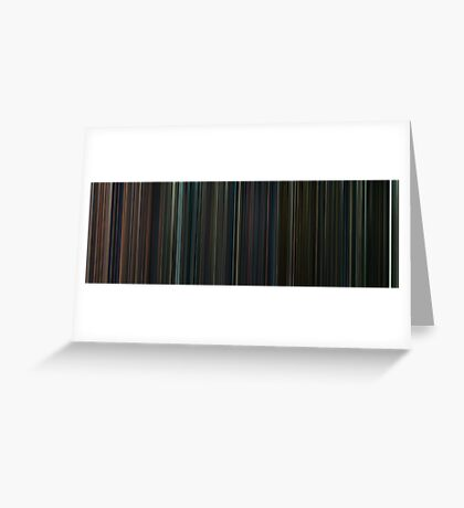 Moviebarcode: Harry Potter: Complete Series (2001-2011) Greeting Card