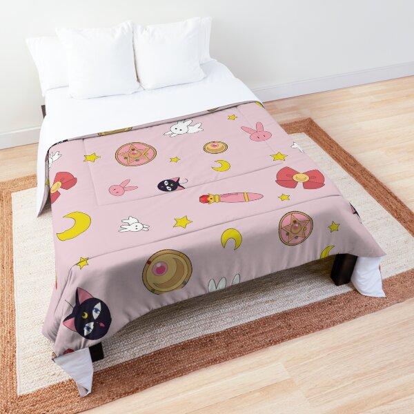 Sailor moon anime manga pattern Comforter