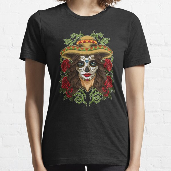 La Calavera Catrina - Lady of the Dead Essential T-Shirt