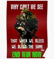 War Poster Poster