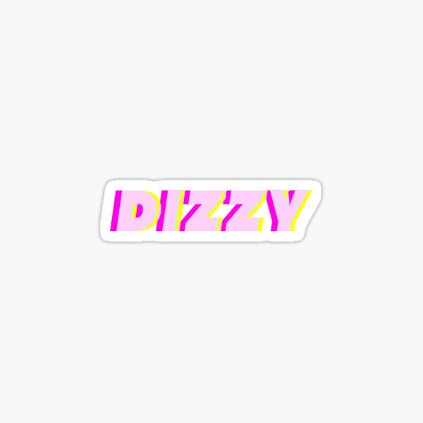 DIZZY Sticker