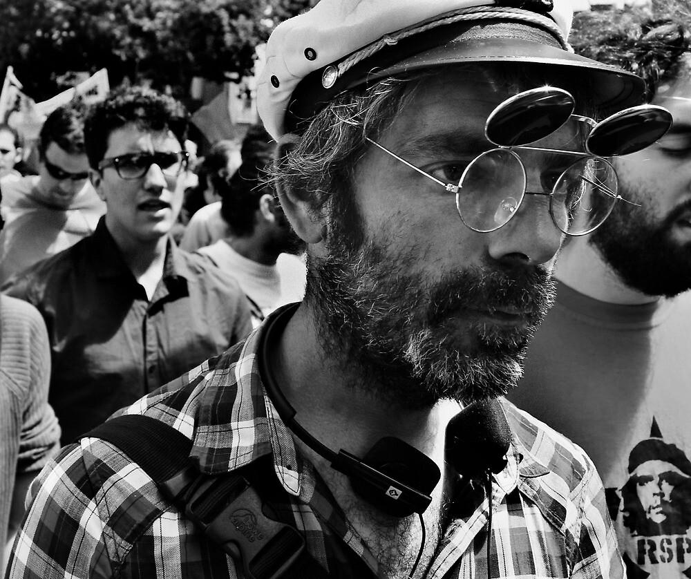 Occupy Melbourne 4 by Andrew  Makowiecki