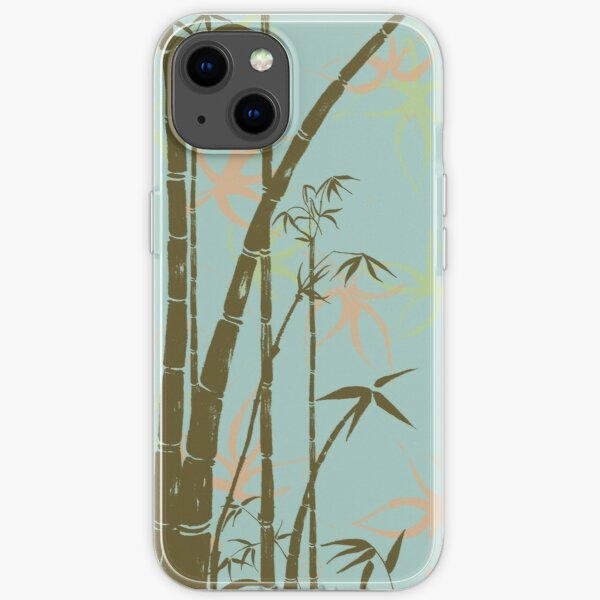 bamboo pond iPhone Soft Case