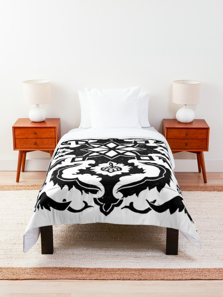 Alternate view of Lisbon Tile  Comforter