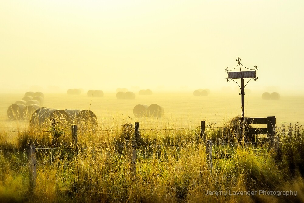 Early Morning At The Farm by Jeremy Lavender Photography
