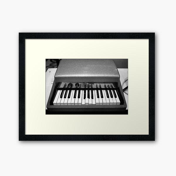 Fender Rhodes Electric Piano Framed Art Print
