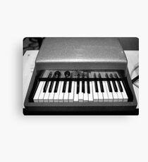 Fender Rhodes Electric Piano Canvas Print