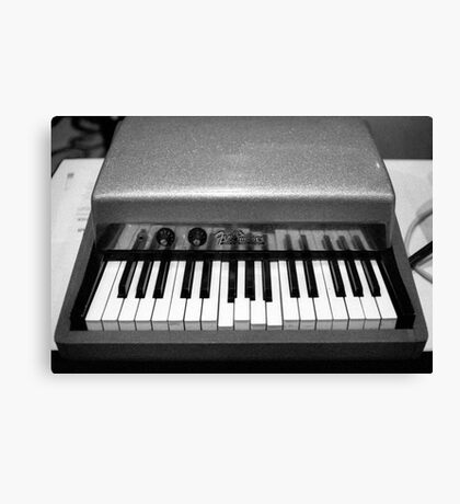 Fender Rhodes Electric Piano Canvas Print