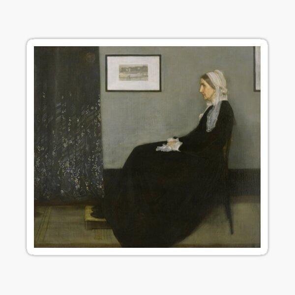 Whistler's Mother - James Abbott McNeill Whistler - 1871 Sticker