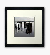 Alloa Dock Framed Print