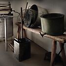 The Laundry ~ Temora Museum NSW by Rosalie Dale
