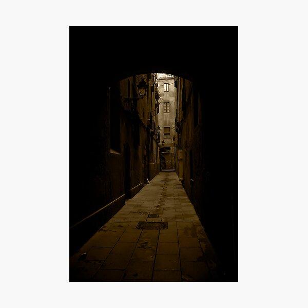 Barcelona Alley Photographic Print