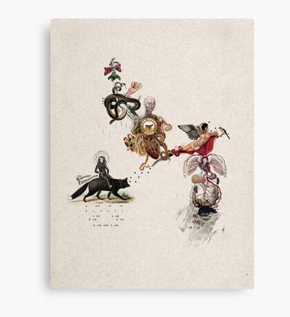 EXTERMNADOR (exterminator) Canvas Print