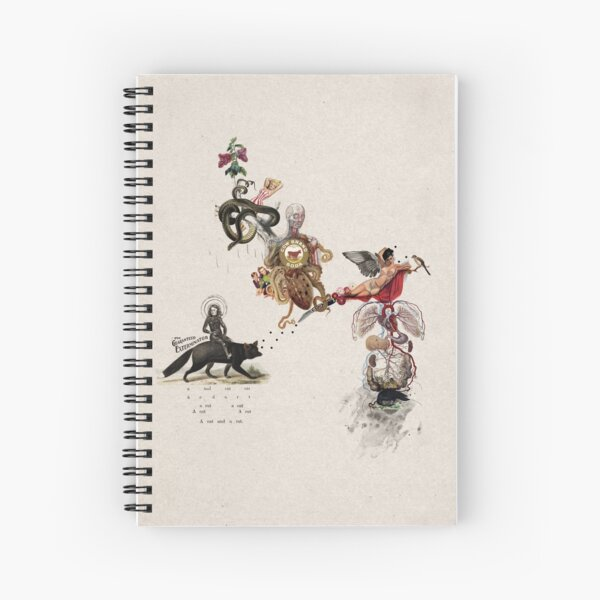 EXTERMNADOR (exterminator) Spiral Notebook