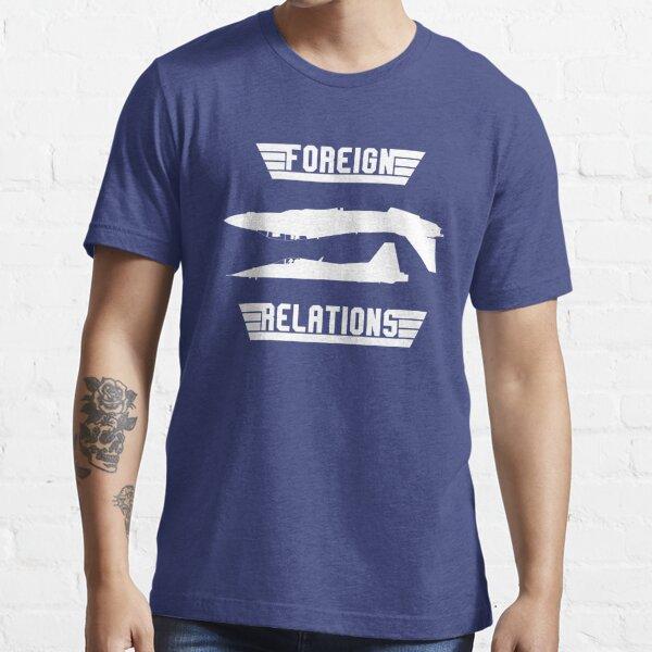 Relations étrangères T-shirt essentiel
