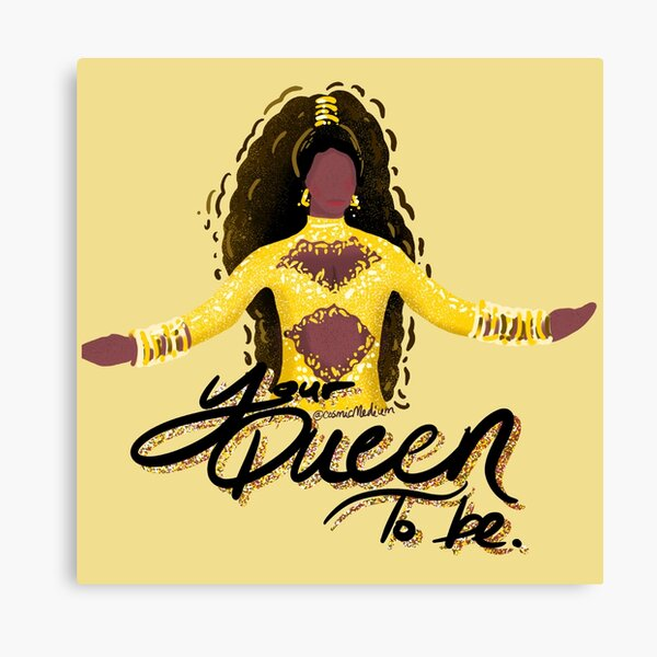 Princess Imani Your Queen To Be Canvas Print