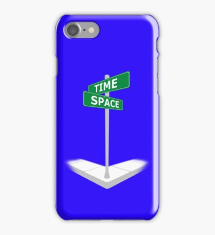 At the corner of Time and Space iPhone Case/Skin