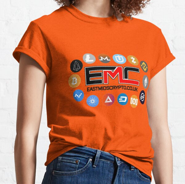 East Mids Crypto and Currency Design Classic T-Shirt