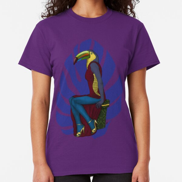 Toucan with dress Classic T-Shirt