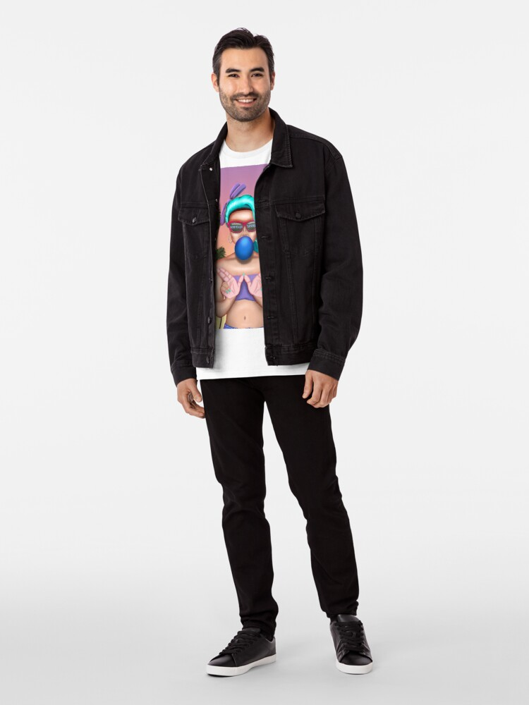 Alternate view of West Coast Cali Girl Premium T-Shirt