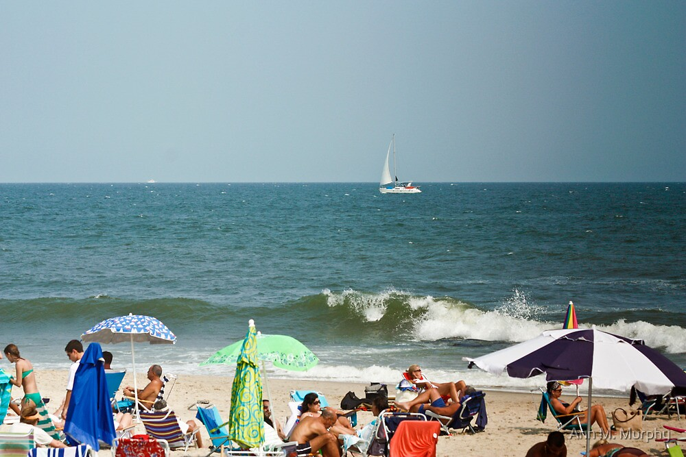 Relaxing on the Beach by Ann M. Murphy