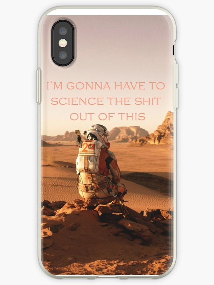 The Martian phone case by liilliith