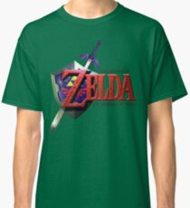 Legend Of Zelda Ocarina Of Time Classic T-Shirt