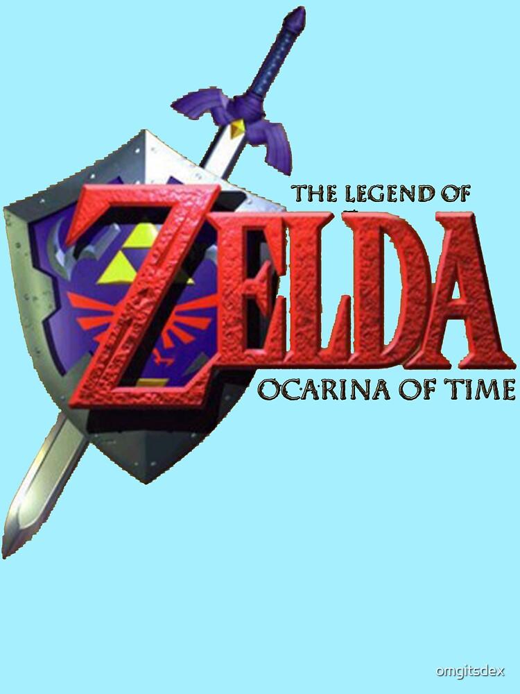 Legend Of Zelda Ocarina Of Time by omgitsdex
