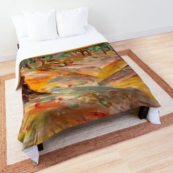 orange grove Comforter