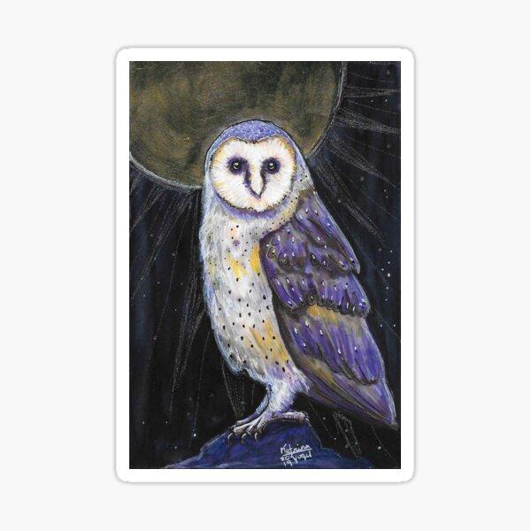 Divine Owl Sticker