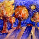 Night Walk by Marianna Tankelevich