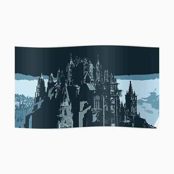 Anor Londo, The Cathedral of Ancient Lords Poster