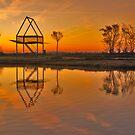A picnic spot at sunrise by Adri  Padmos