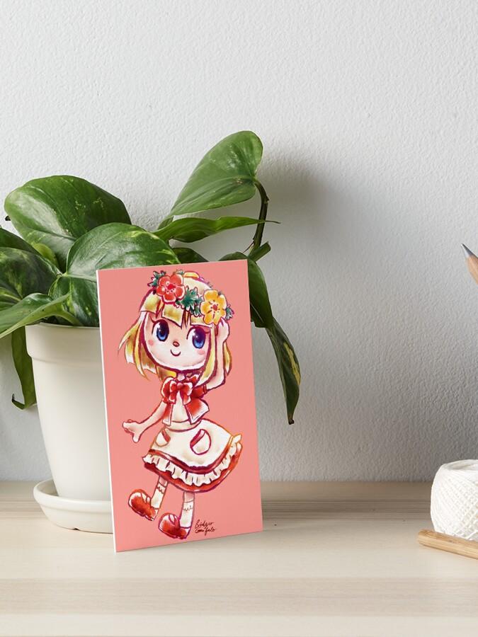 Flower Crown Villager Animal Crossing New Horizons Watercolor