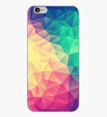 Abstract Polygon Multi Color Cubism Low Poly Triangle Design iPhone-Hülle & Cover