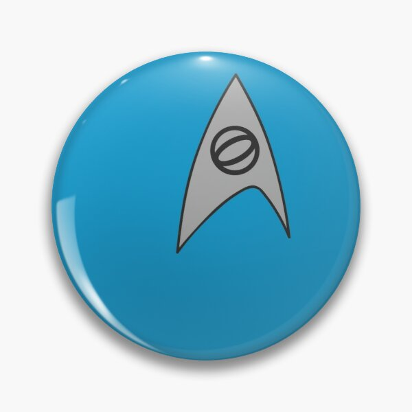 Science Blue Pin
