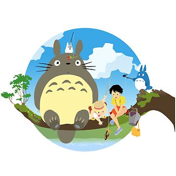 my neighbor totoro by Eskridge
